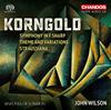 コルンゴルト:交響曲嬰ヘ調 - 主題と変奏ウィルソン - シンフォニア・オヴ・ロンドン [SA-CDハイブリッドCD]