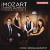 モーツァルト:弦楽四重奏曲集Vol.1〜プロシャ王セットドーリックSQ [2CD]