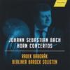 J.S.バッハ:ホルン協奏曲集バボラーク(HR) ベルリン・バロック・ゾリステン [CD]