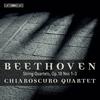 ベートーヴェン:弦楽四重奏曲第1番-第3番キアロスクーロSQ [SA-CDハイブリッドCD]