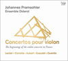 フランスにおけるヴァイオリン協奏曲の始まりプラムゾーラー(VN) アンサンブル・ディドロ [CD]