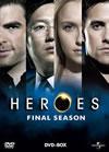 HEROES/ヒーローズ ファイナル・シーズン DVD-BOX〈6枚組〉 [DVD]