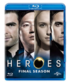 HEROES/ヒーローズ ファイナル・シーズン バリューパック〈6枚組〉 [Blu-ray]