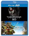 ターミネーター:新起動/ジェニシス&ミュータント・タートルズ 3D ベストバリューBlu-rayセット〈期間限定スペシャルプライス・2枚組〉 [Blu-ray]