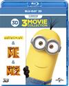 怪盗グルー/危機一発/ミニオンズ ベストバリュー3Dセット〈期間限定スペシャルプライス・3枚組〉 [Blu-ray]