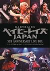 ベイビーレイズJAPAN / 5th Anniversary LIVE BOX シンデレラたちのニッポンChu!Chu!Chu!〈3枚組〉 [Blu-ray]