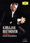 ヘルベルト・フォン・カラヤン/ベートーヴェン:交響曲第1番・第2番・第3番「英雄」〈限定盤〉 [DVD]