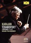 ヘルベルト・フォン・カラヤン/チャイコフスキー:交響曲第4番・第5番・第6番「悲愴」〈限定盤〉 [DVD]