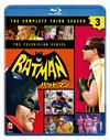 バットマン TV サード・シーズン コンプリート・セット〈3枚組〉 [Blu-ray]
