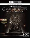 ゲーム・オブ・スローンズ 第一章:七王国戦記 4K ULTRA HD&ブルーレイセット コンプリート・ボックス〈数量限定生産・10枚組〉 [Ultra HD Blu-ray] [2018/12/19発売]