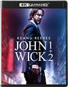 ジョン・ウィック 1+2 4K ULTRA HDスペシャル・コレクション〈初回生産限定・2枚組〉 [Ultra HD Blu-ray]