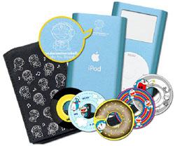 ドラえもんのデザイン入り「iPod mini」限定発売!