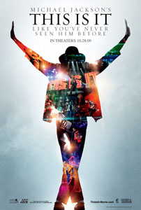 マイケル・ジャクソンの映画『THIS IS IT』、貴重画像を多数使用したポスターが解禁!