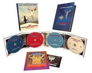ローリング・ストーンズ『ゲット・ヤー・ヤ・ヤズ・アウト!』、3CD+DVDの40周年記念盤が発売