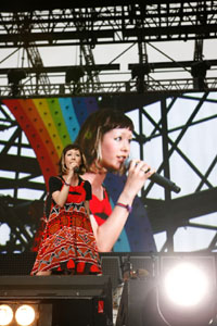 大成功に終わった、木村カエラ、デビュー5周年イベントをリポート!