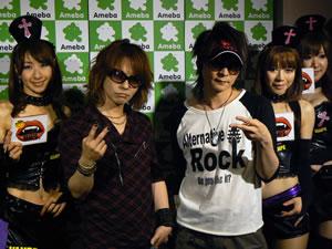 VAMPS、原宿アメスタに登場! 渋谷ではVAMPRICESSが〈VAMPS NIGHT〉を開催