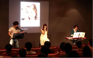 Rin Oikawa(From Q;indivi)、Apple Store銀座でライヴ!