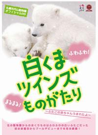 まるまるふわふわ! ふたごの赤ちゃん白くまのDVDが発売決定!