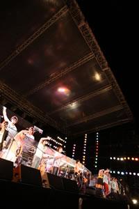 スキマスイッチ、地元・東海での〈Augusta Camp〉にて3年ぶりのアルバム・リリースを発表!