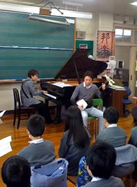 AGA-SHIO、小学校で出張授業!