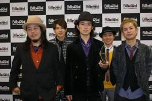"ROCK'A'TRENCH「My SunShine」が""Billboard JAPAN Music Awards 2009""エアプレイ・チャート年間1位!"