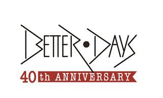 「BETTER DAYS」レーベル40周年を記念して名盤10タイトルがUHQCDでリイシュー