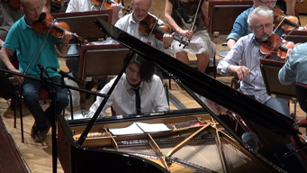 TVアニメ『ピアノの森』ワルシャワでのレコーディング映像公開