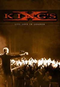 キングスX、ライヴ・アルバムを発表!初のオフィシャル・ライヴDVDも付属