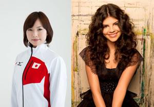 カーリング日本代表・近江谷杏菜が応援に! 16歳の歌姫ニッキーが来日!