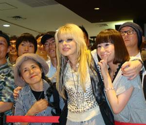 オリアンティ、タワレコ渋谷店で初のファン・イベントを開催!