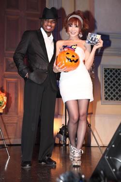 Ne-Yo、ハロウィン・イベントが大盛況!