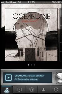 OCEANLANE『Urban Sonnet』がアルバム型ミュージック・アプリとしてApp Storeに登場!