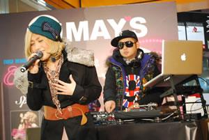 MAY'S、『Cruising』発売記念ライヴを渋谷タワレコで開催!