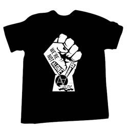 AA=、被災者支援のためのチャリティTシャツを販売
