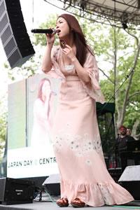 ふくい舞、NY<Japan Day>で「いくたびの櫻」を披露!