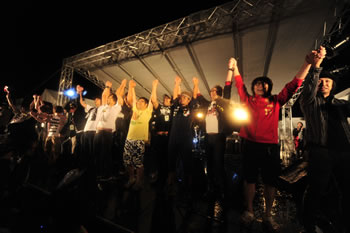 <LIVE福島 風とロックSUPER野馬追>最終日in いわき!