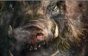 『人喰猪、公民館襲撃す!』ハードコアチョコレート&テロファクトリーとのコラボTシャツ発売!