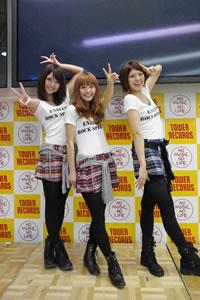 Negicco「恋のEXPRESS TRAIN」発売記念インストア・イベントをレポート!