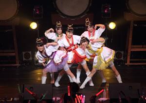 ももクロZ、男性限定ライヴ<男祭り2011>大成功!