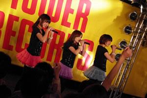 Negicco、タワレコ渋谷店で再びフリー・ライヴ開催!