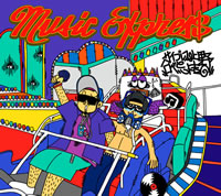 サイプレス上野とロベルト吉野、約3年ぶりのニュー・アルバム『MUSIC EXPRES$』の全貌が明らかに!
