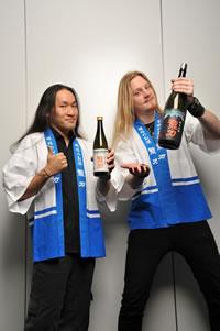 ドラゴンフォースと日本酒の異色コラボが実現!