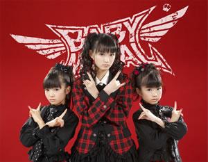 BABYMETAL、初の大阪・名古屋ツアー<ヘドバ行脚ー!!>開催決定!