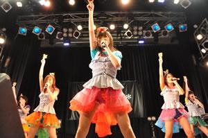 東京女子流、ツアー・ファイナル野音は生バンド! 新たな初披露曲も!