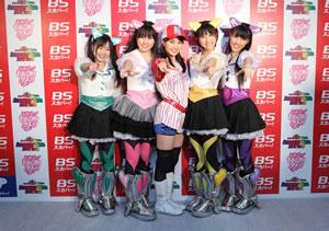 ももいろクローバーZ、ツアー初日を念願の東京・NHKホールで!