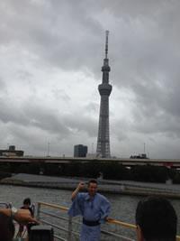 林家たい平、隅田川へ屋形船で繰り出す!