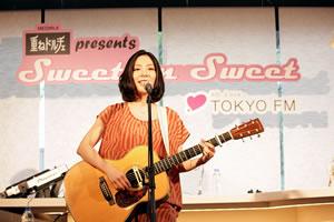ごほうびスイーツ「重ねドルチェ」イベントに植村花菜、土岐麻子、ユージが登場!