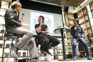 「自分たちの時代の新しい反抗の仕方を考えなくちゃいけない」TOSHI-LOW×後藤正文のトーク・イベント開催
