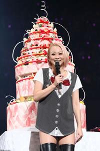 倖田來未、日本武道館でバースデー・ライヴを開催!