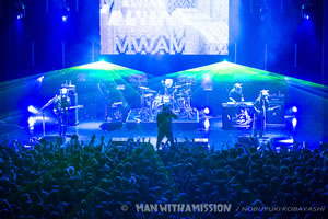 MAN WITH A MISSION、武道館ライヴ開催決定!